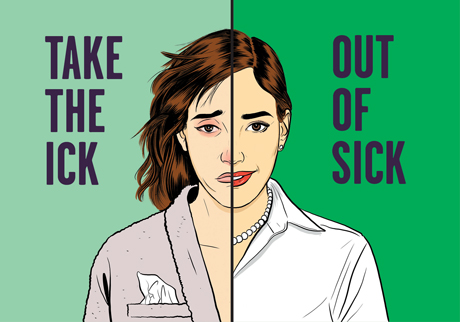 Take the ick out of sick