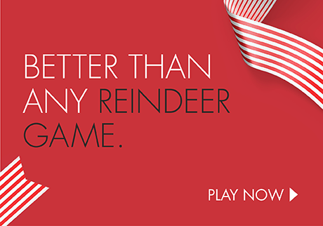 Play Holiday Match & Win for a chance to win great holiday prizes.