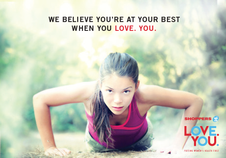We believe you're at your best when you LOVE. YOU.
