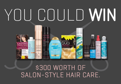 Transform your tresses with salon-inspired hair care – PLUS, discover the looks we love and get rewarded.