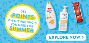 Shop participating summer products and get Shoppers Optimum Points. Summer just got sweeter.
