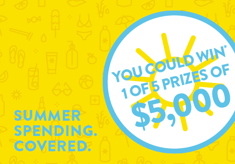 Win a sun-shiny $5,000