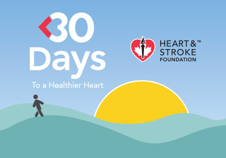 Learn more about the Heart & Stroke Foundation's <30 Days app.