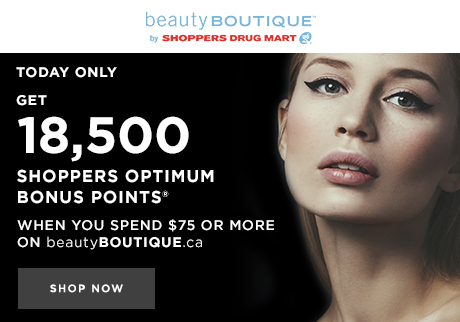 Today only! Get 18,500 Shoppers Optimum Bonus Points®