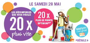 20 x plus de points