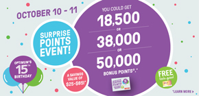 Surprise Points Event!