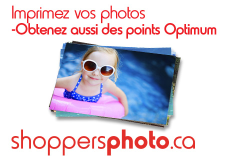 Imprimez vos photos à Shoppersphoto.ca