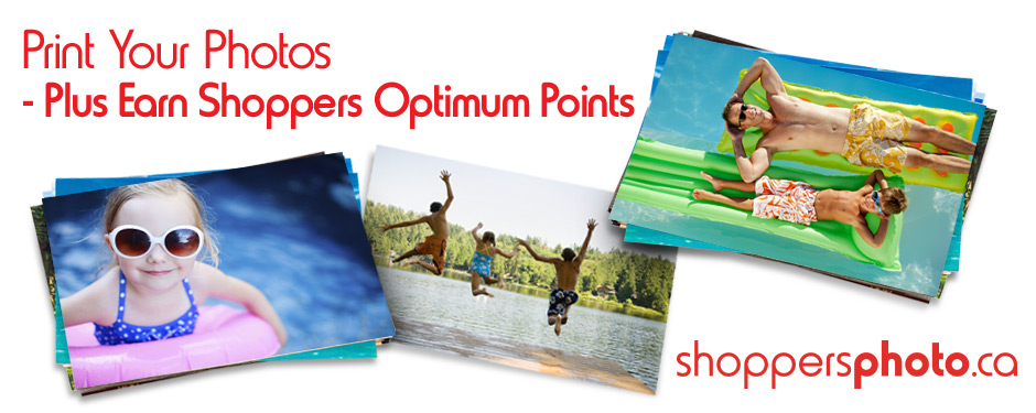 Print Your Photos at Shoppersphoto.ca