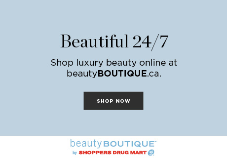 Receive Optimum Points® on each purchase, 3 free samples, and free shipping over $75. Only at beautyBOUTIQUE.ca.
