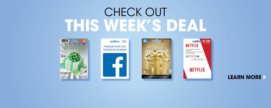 Check out this week's deal