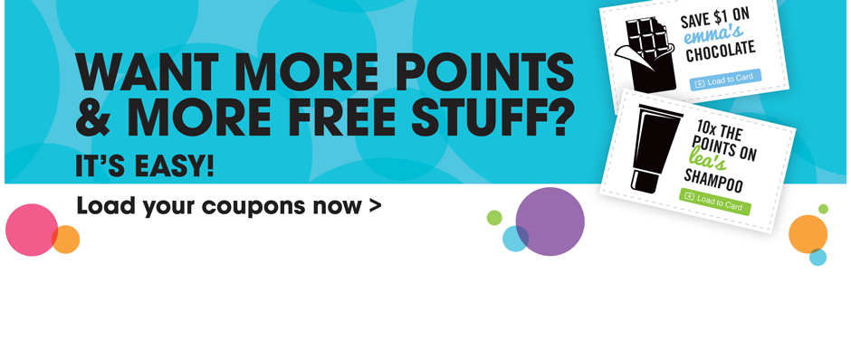 Want more points & more free stuff?