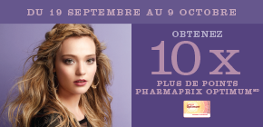 Obtenez 10 x plus de points