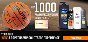 Get 1000 Pharmaprix Optimum Bonus Points®** when you buy any three (3) Dove Men+Care, Axe®, Vaseline Men®, or Degree® products.