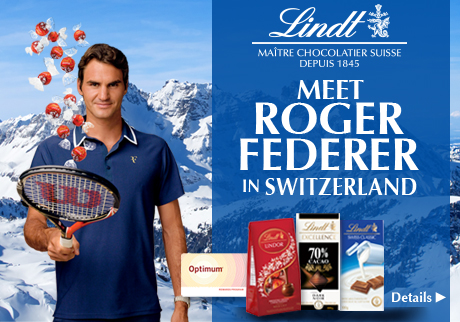 meet Roger Federer in Switzerland