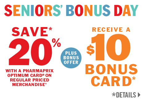 Save 20% PLUS Receive a $10 Pharmarpix Bonus Card