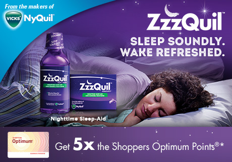 ZzzQuil™ Nighttime Sleep-Aid