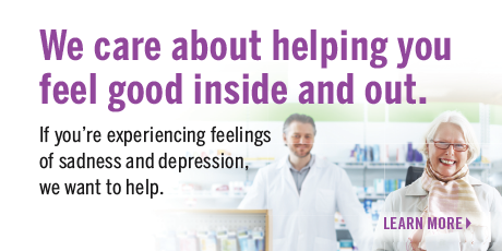 We care about helping you feel good inside and out
