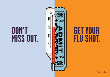 Get your flu shot at our Pharmacy – vaccination is the #1 way to reduce your risk of severe flu symptoms this year.