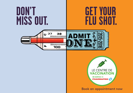 Vaccination is the #1 way to reduce your risk of severe flu symptoms this year.  Book an appointment now.