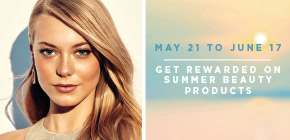 Enjoy Shoppers Optimum Points offers on select sun kissed beauty and sun care.