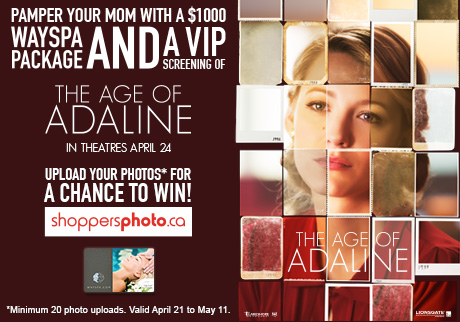 The Age of Adaline Photo Contest